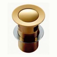 Донный клапан для умывальника Imprese PP280zlato