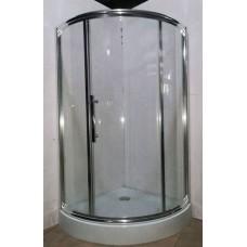 Душевая кабина AquaStream Premium 90 LС одна дверь