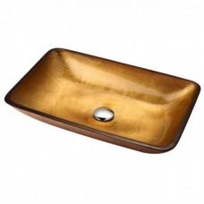 Умывальник Kraus Golden Pearl GVR-210-RE-15mm