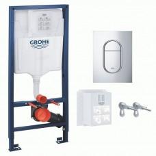 Инсталляция для подвесного унитаза Grohe Rapid SL 39504000