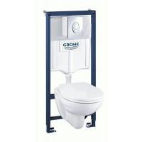Комплект унитаза с инсталляцией Grohe Solido Perfect 39192000