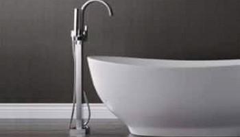 Напольные смесители для ванной - вся краса в одном предмете