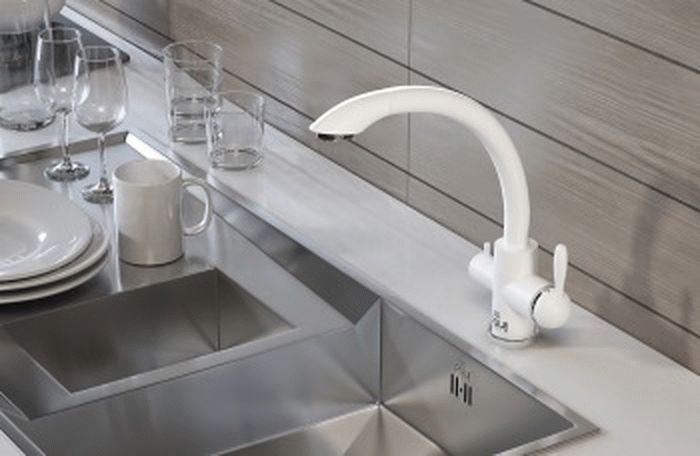 кран для фильтра воды