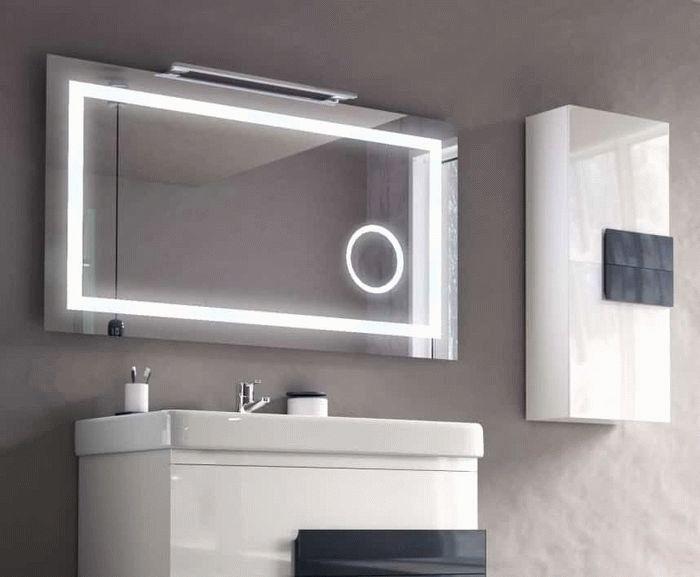 зеркало для ванной недорого